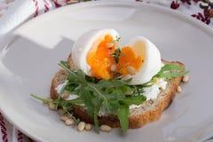 Σάντουιτς με τα αυγά στοκ φωτογραφίες με δικαίωμα ελεύθερης χρήσης