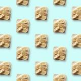 Σάντουιτς με την μπανάνα, σχέδιο Στοκ Φωτογραφίες