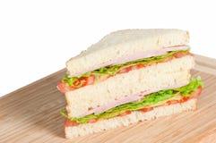 Σάντουιτς με το μπέϊκον και την ντομάτα Στοκ εικόνα με δικαίωμα ελεύθερης χρήσης