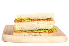 Σάντουιτς με το μπέϊκον και την ντομάτα Στοκ φωτογραφία με δικαίωμα ελεύθερης χρήσης