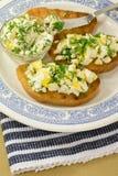 Σάντουιτς με το τυρί εξοχικών σπιτιών Στοκ φωτογραφία με δικαίωμα ελεύθερης χρήσης