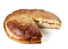 σάντουιτς που γεμίζετα&iot Στοκ Εικόνα