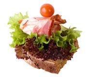 σάντουιτς σαλάτας μπέϊκον στοκ εικόνες