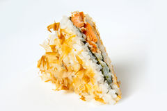 Σάντουιτς σουσιών παλαμίδων με τον τόνο Στοκ Φωτογραφία