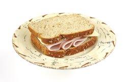 σάντουιτς Τουρκία τυριών Στοκ εικόνες με δικαίωμα ελεύθερης χρήσης