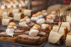 Σάντουιτς τροφίμων τομέα εστιάσεως στοκ εικόνα με δικαίωμα ελεύθερης χρήσης