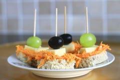 σάντουιτς τροφίμων 9 Στοκ Φωτογραφίες