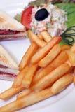 σάντουιτς τροφίμων Στοκ εικόνα με δικαίωμα ελεύθερης χρήσης