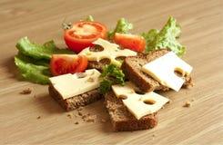 σάντουιτς τυριών Στοκ εικόνες με δικαίωμα ελεύθερης χρήσης