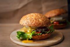 Σάντουιτς τυριών Στοκ Φωτογραφίες