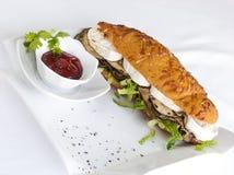 Σάντουιτς τυριών Halloumi Στοκ φωτογραφία με δικαίωμα ελεύθερης χρήσης
