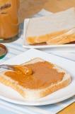 Σάντουιτς φυστικοβουτύρου Στοκ Εικόνα
