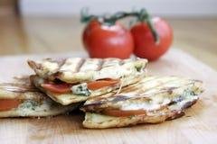 σάντουιτς panini Στοκ Εικόνες