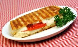 σάντουιτς panini Στοκ Εικόνα