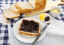 σάντουιτς vegemite Στοκ εικόνες με δικαίωμα ελεύθερης χρήσης