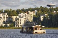Σάουνα και κρουαζιέρα SPA, πόλη Jyvaskyla Παραδοσιακός πιό lifest της Φινλανδίας Στοκ εικόνες με δικαίωμα ελεύθερης χρήσης