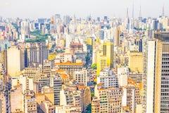 Σάο της Βραζιλίας Paulo Στοκ φωτογραφία με δικαίωμα ελεύθερης χρήσης
