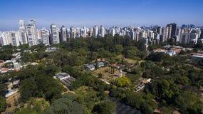 Σάο του Paulo πάρκων ibirapuera στοκ φωτογραφίες με δικαίωμα ελεύθερης χρήσης