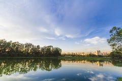 Σάο του Paulo πάρκων ibirapuera Στοκ Φωτογραφίες