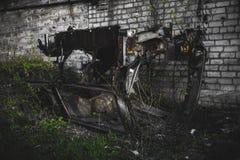 Σάπια σπασμένη μηχανή Στοκ Φωτογραφία