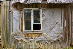 Σάπιο παράθυρο των ευρωπαϊκών τρωγλών Στοκ εικόνες με δικαίωμα ελεύθερης χρήσης