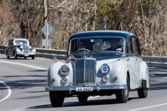 1957 σάπφειρος Limousine Armstrong Siddeley Στοκ φωτογραφία με δικαίωμα ελεύθερης χρήσης