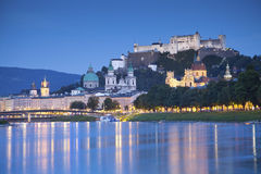 Σάλτζμπουργκ, Αυστρία. Στοκ Εικόνες