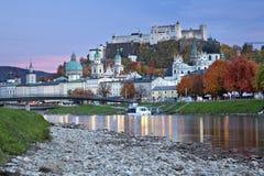 Σάλτζμπουργκ, Αυστρία. Στοκ Φωτογραφίες