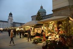 Σάλτζμπουργκ australites Αγορά Χριστουγέννων στην παλαιά πόλη Το Δεκέμβριο του 2014 στοκ φωτογραφίες με δικαίωμα ελεύθερης χρήσης
