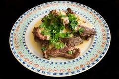 Σάλτσα βόειου κρέατος και χρένου Στοκ φωτογραφίες με δικαίωμα ελεύθερης χρήσης