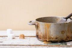 Σάλτσα καραμέλας Στοκ Φωτογραφίες