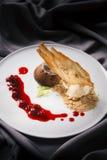 σάλτσα πάγου κρέμας Στοκ εικόνα με δικαίωμα ελεύθερης χρήσης