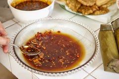 σάλτσα πικάντικη Στοκ Φωτογραφίες