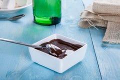 Σάλτσα σοκολάτας Στοκ φωτογραφία με δικαίωμα ελεύθερης χρήσης