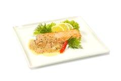 Σάλτσα σολομών Στοκ Εικόνα