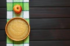 Σάλτσα της Apple Στοκ φωτογραφία με δικαίωμα ελεύθερης χρήσης