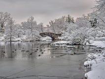 Σέντραλ Παρκ γεφυρών Gapstow, πόλη της Νέας Υόρκης Στοκ Εικόνες