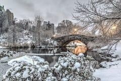 Σέντραλ Παρκ γεφυρών Gapstow, πόλη της Νέας Υόρκης Στοκ φωτογραφία με δικαίωμα ελεύθερης χρήσης