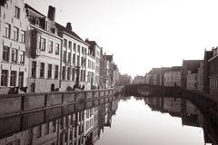 σέπια της Μπρυζ Στοκ εικόνα με δικαίωμα ελεύθερης χρήσης