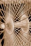 σέπια spokes στοκ φωτογραφία με δικαίωμα ελεύθερης χρήσης