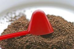 Σέσουλα καφέ & καφές Στοκ Εικόνες