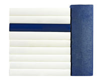 Σέλες μπλε και άσπρος στοκ φωτογραφία με δικαίωμα ελεύθερης χρήσης