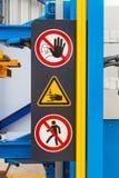Σήμανση ασφάλειας Στοκ Φωτογραφία