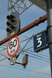 Σήματα σιδηροδρόμων Στοκ Φωτογραφία
