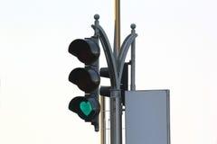 Σήμα κυκλοφορίας στα Ε.Α.Ε. Στοκ Φωτογραφία