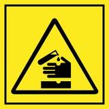 Σήμα της εργασίας Στοκ εικόνα με δικαίωμα ελεύθερης χρήσης