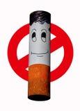 Σήμα του απαγορευμένου καπνίσματος ελεύθερη απεικόνιση δικαιώματος