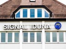 Σήμα Iduna Στοκ εικόνες με δικαίωμα ελεύθερης χρήσης