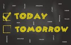 Σήμερα, όχι αύριο απεικόνιση αποθεμάτων
