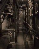 σήραγγα ατμού Στοκ φωτογραφία με δικαίωμα ελεύθερης χρήσης